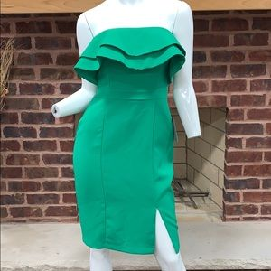 Brand New W/ Tags Adelyn Rae Green Cocktail dress